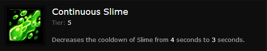 CONTINUOUS SLIME
