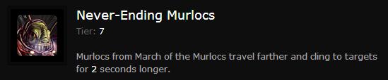 NEVER-ENDING MURLOCS