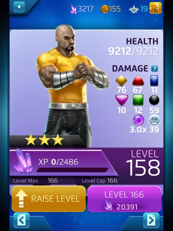 You think I just got this Luke Cage overnight? This -- sadly -- is months of dedication.